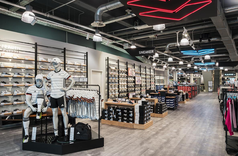 DSD5 Innenarchitekturbüro Entwicklung des Retail-Konzepts für Karstadt Sports