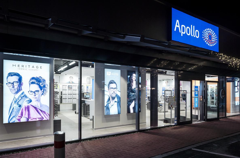 DSD5 Innenarchitekturbüro Planung Neubau Apollo Optik
