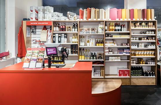 DSD5 Innenarchitekturbüro Planung des Shopkonzepts für Jacques Wein-Depot in Aachen