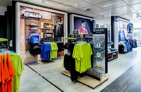 DSD5 Innenarchitekturbüro Entwicklung Shopkonzept für Karstadt Sports ALEX