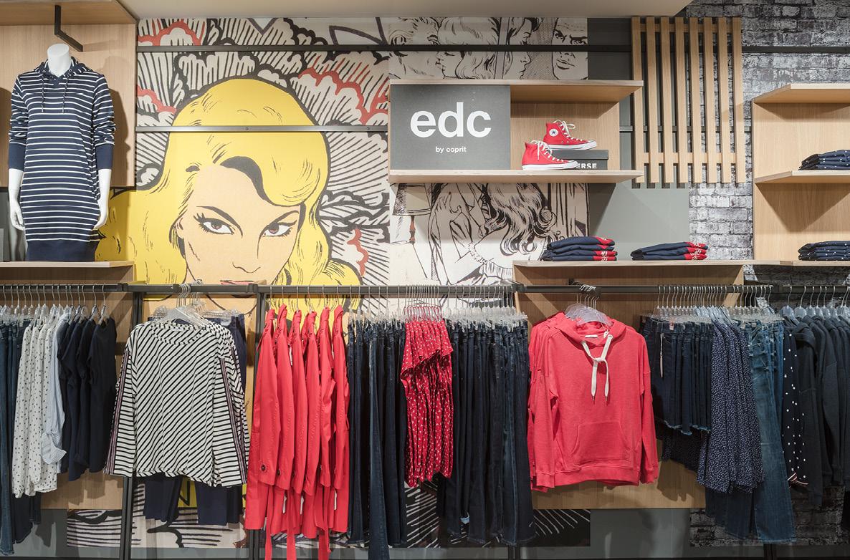 DSD5 Innenarchitekturbüro Entwicklung young fashion Multilabel Shopkonzept