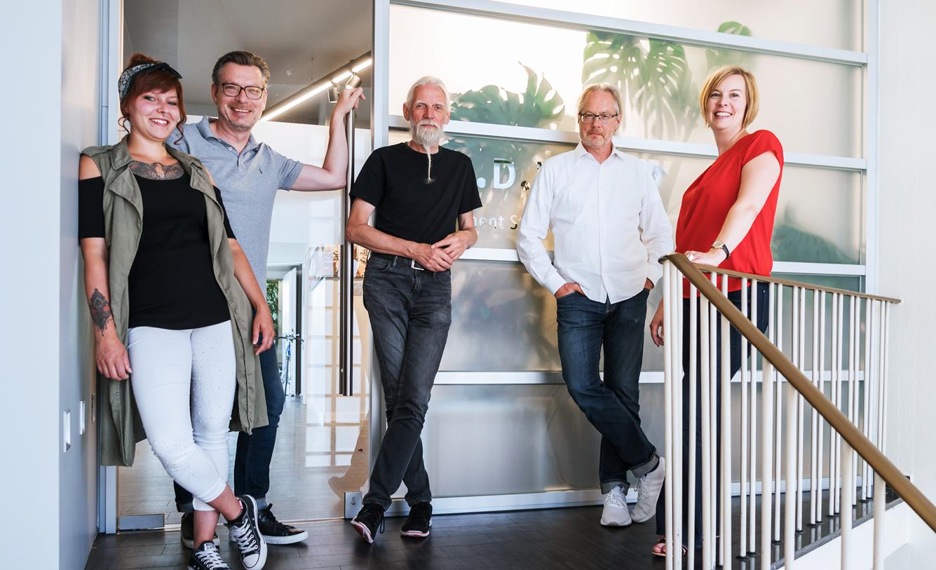 DSD5 Team Innenarchitekturbüro für Ladenbau